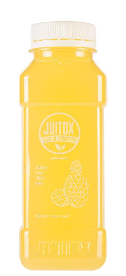 Ananaslı ödem atıcı detoks içeceği